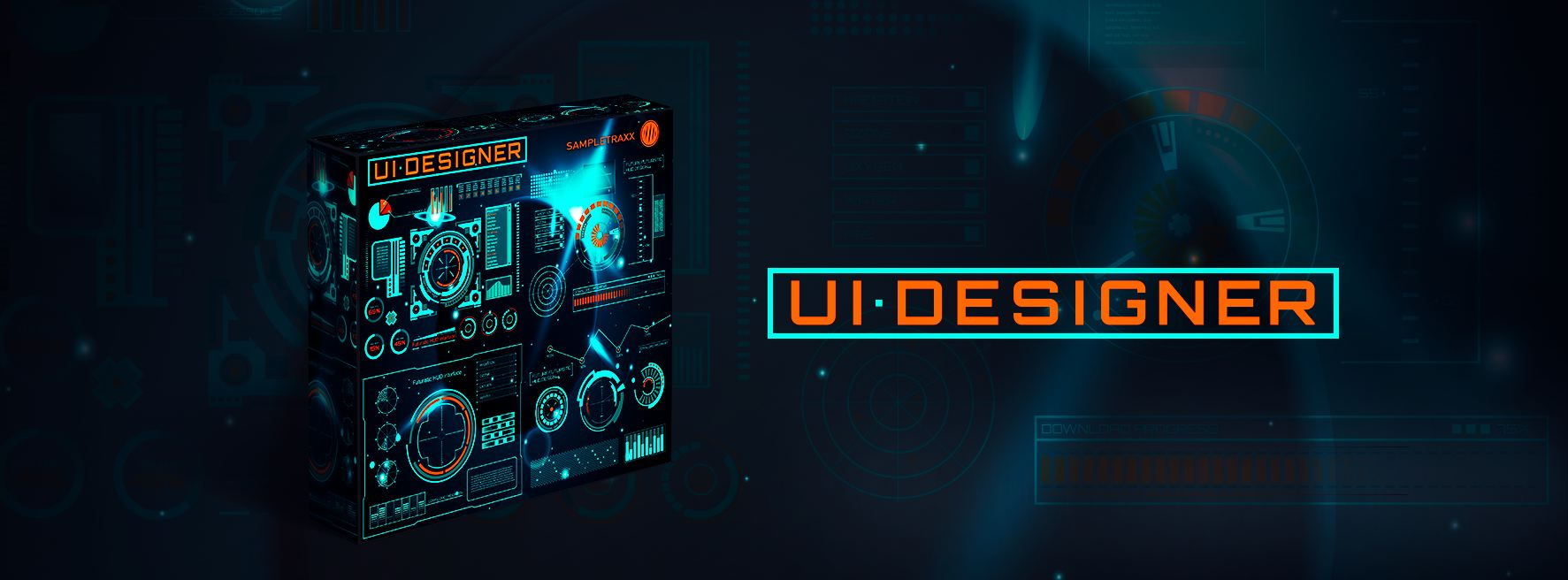 UI DESIGNER is an advanced soundset dedicated to the interaction between human and machines.